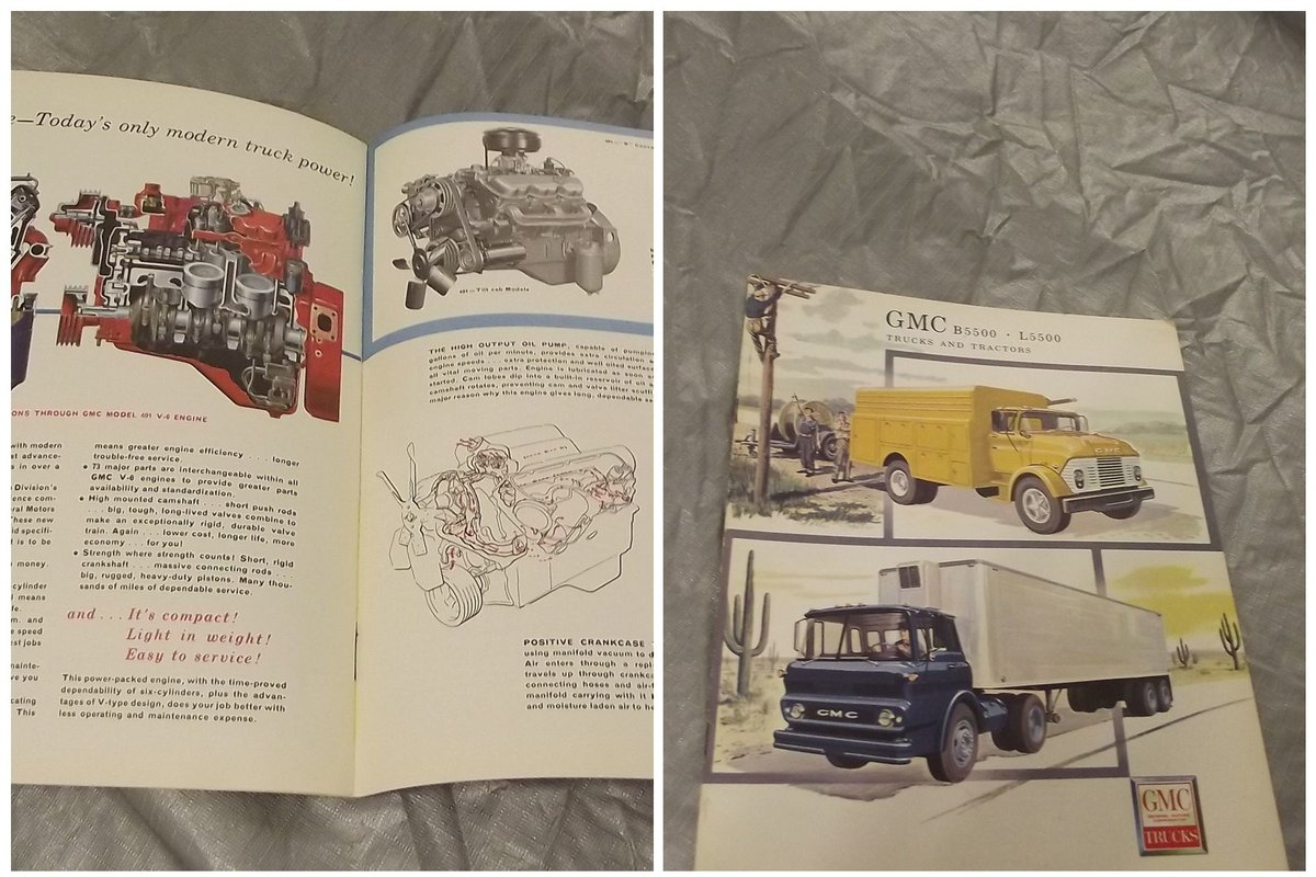 0000 GMC ORIG SALES BROCHURES WHOLE RANGE 1960S TO 1975  For Sale (picture 6 of 6)