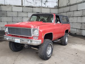 1974 GMC K1500 Jimmy Sierra Pickup For Sale by Auction