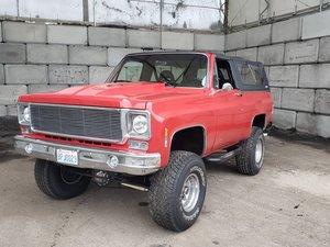 1974 GMC K1500 Jimmy Sierra Pickup