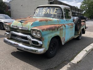 1959 GMC 100: Factory Four Speed