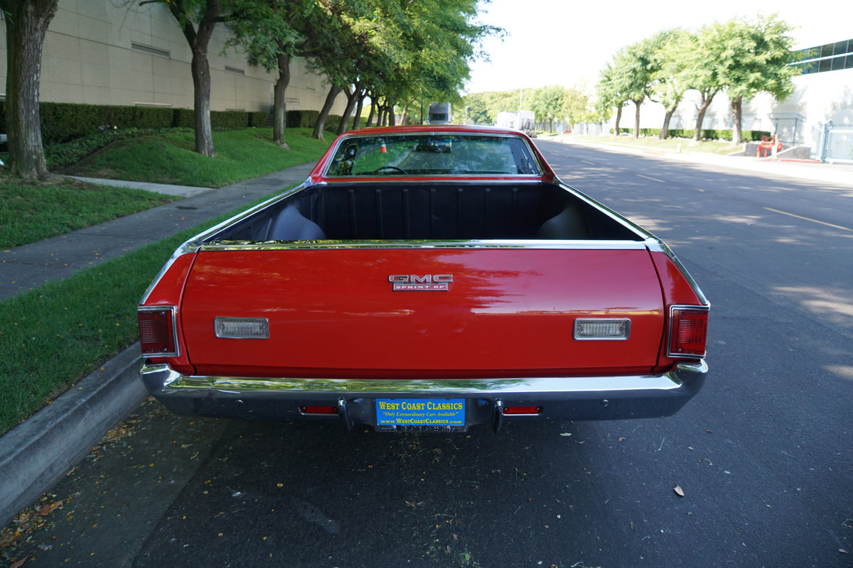1972 GMC Sprint SP 454 V8 Pick Up For Sale (picture 4 of 6)