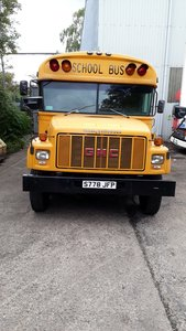 GMC Bluebird American School Bus