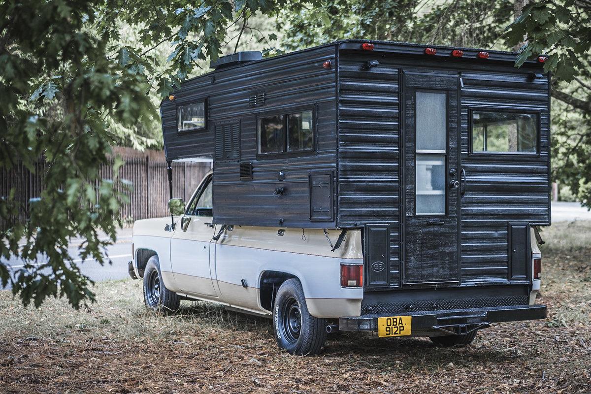 1976 GMC Sierra grande American pick up truck camper For Sale (picture 3 of 6)