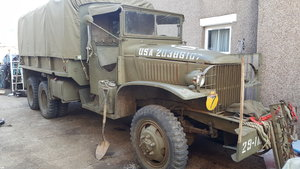 ww2 gmc cargo and troop carrier