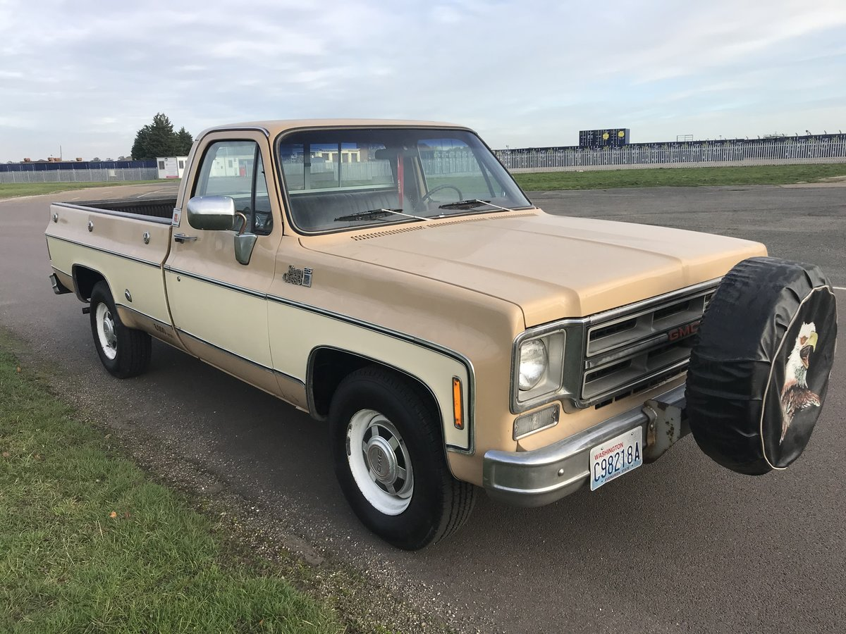 1976 CHEVY GMC SIERRA CLASSIC CUSTOM For Sale (picture 2 of 6)