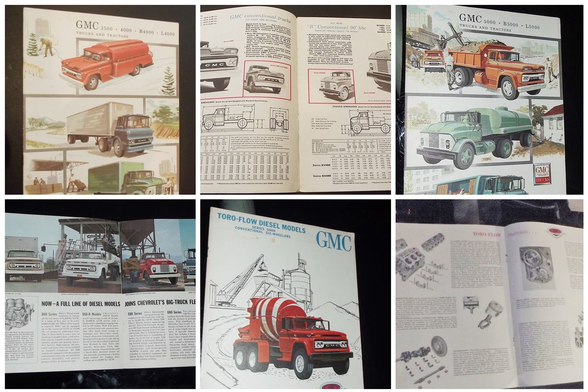 0000 GMC ORIG SALES BROCHURES WHOLE RANGE 1960S TO 1975 For Sale (picture 2 of 12)