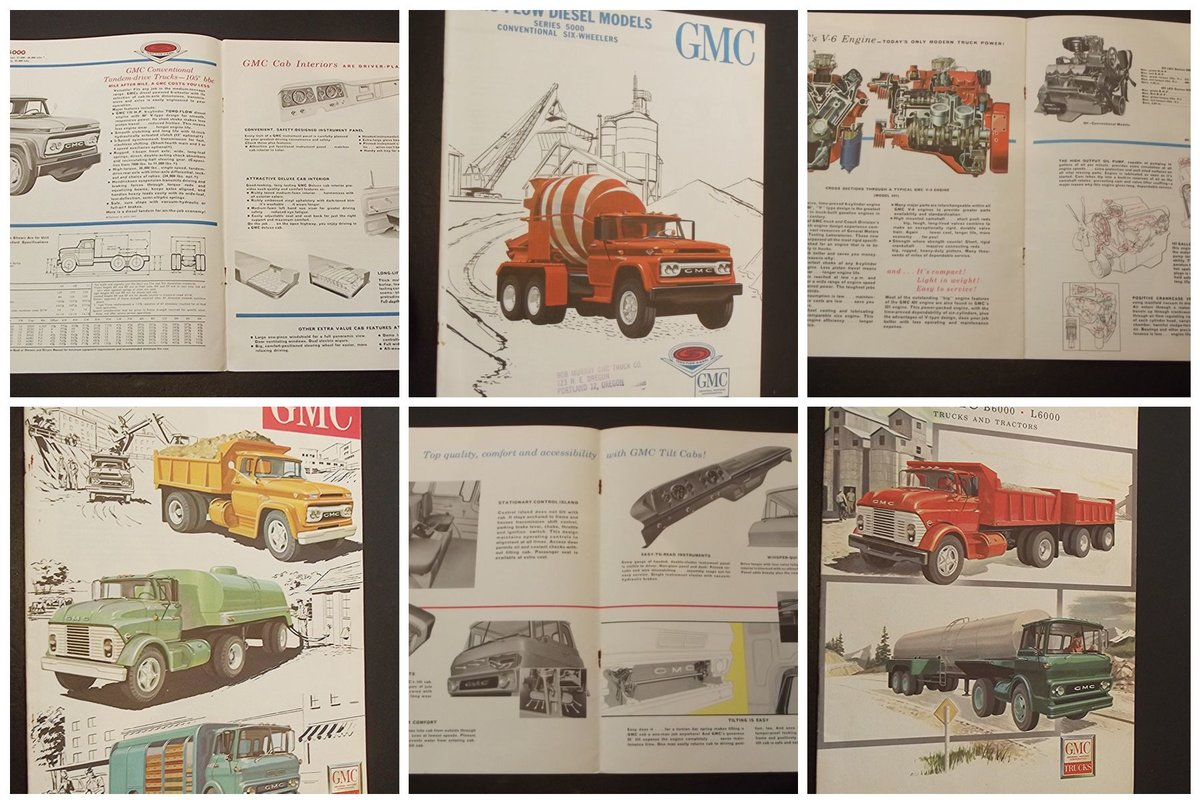 0000 GMC ORIG SALES BROCHURES WHOLE RANGE 1960S TO 1975 For Sale (picture 3 of 12)
