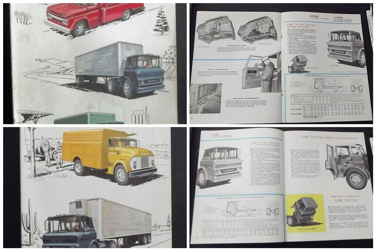 0000 GMC ORIG SALES BROCHURES WHOLE RANGE 1960S TO 1975 For Sale (picture 4 of 12)
