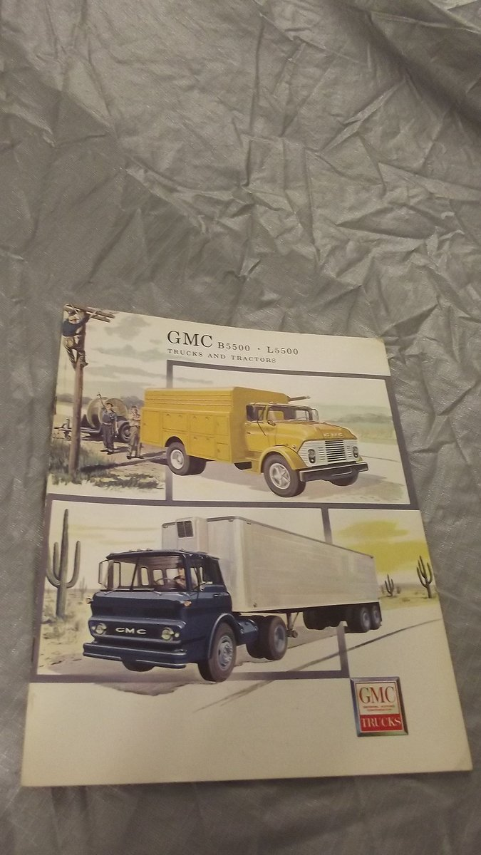 0000 GMC ORIG SALES BROCHURES WHOLE RANGE 1960S TO 1975 For Sale (picture 7 of 12)