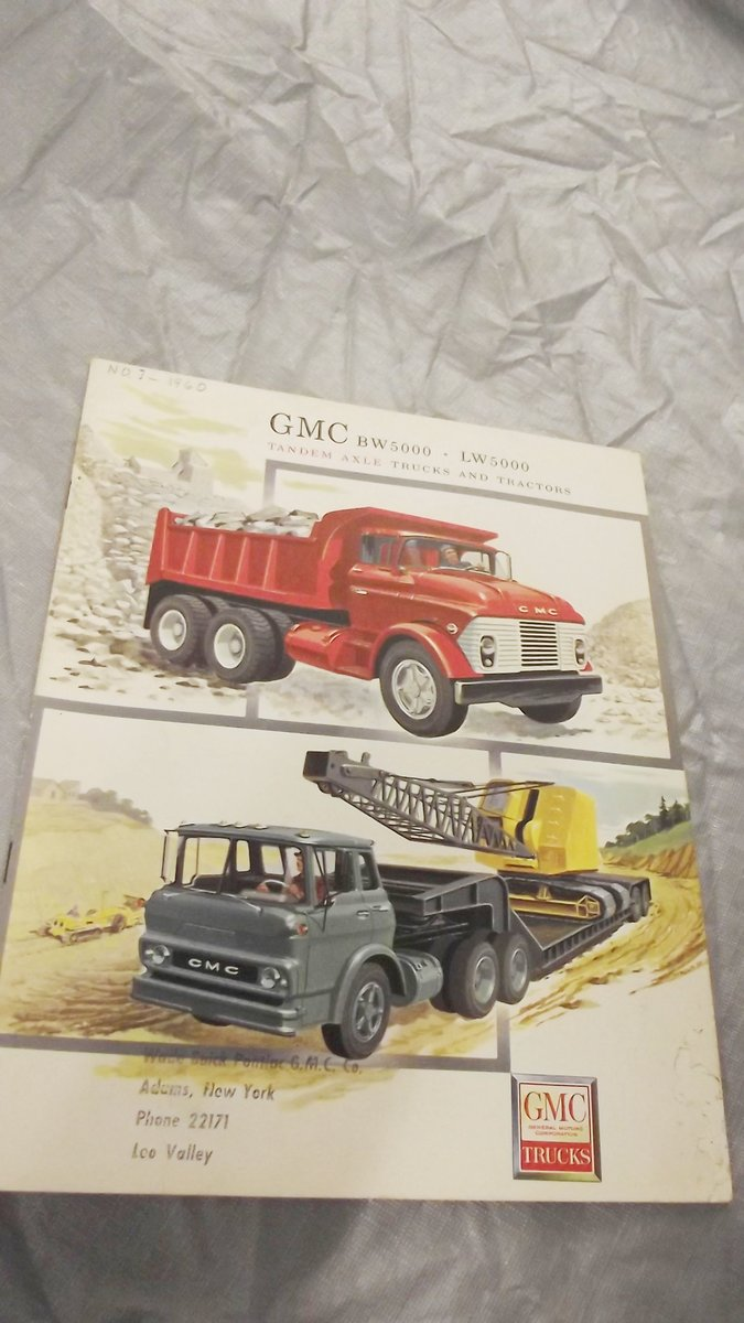 0000 GMC ORIG SALES BROCHURES WHOLE RANGE 1960S TO 1975 For Sale (picture 9 of 12)