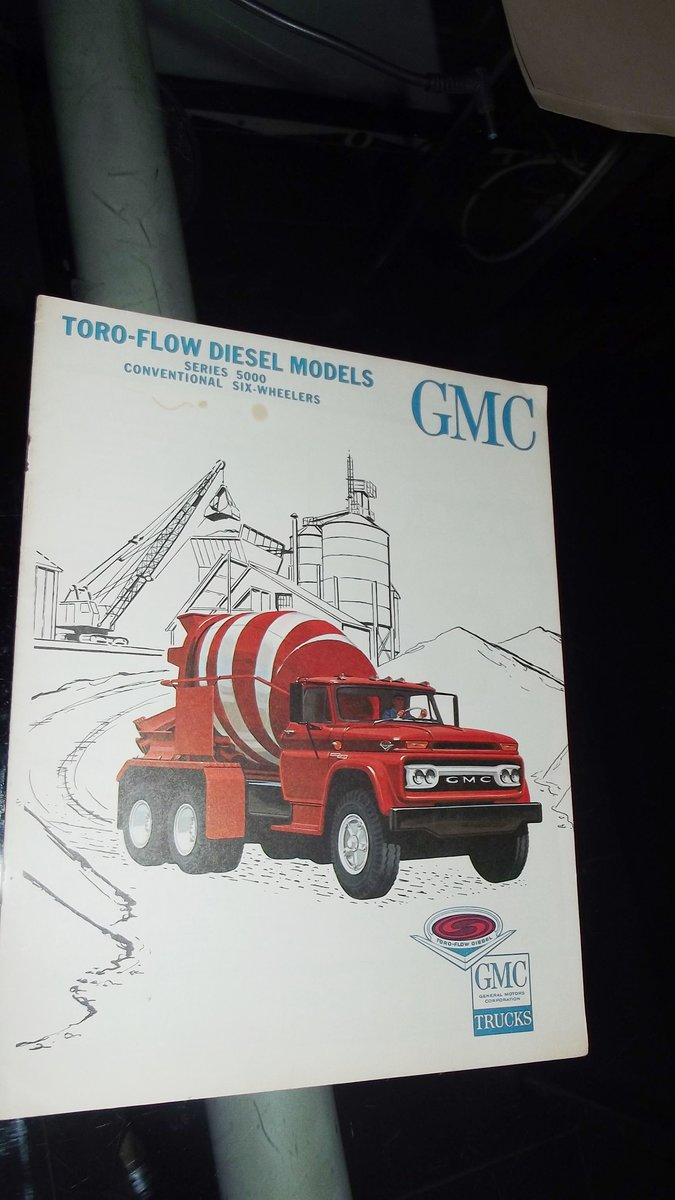 0000 GMC ORIG SALES BROCHURES WHOLE RANGE 1960S TO 1975 For Sale (picture 10 of 12)
