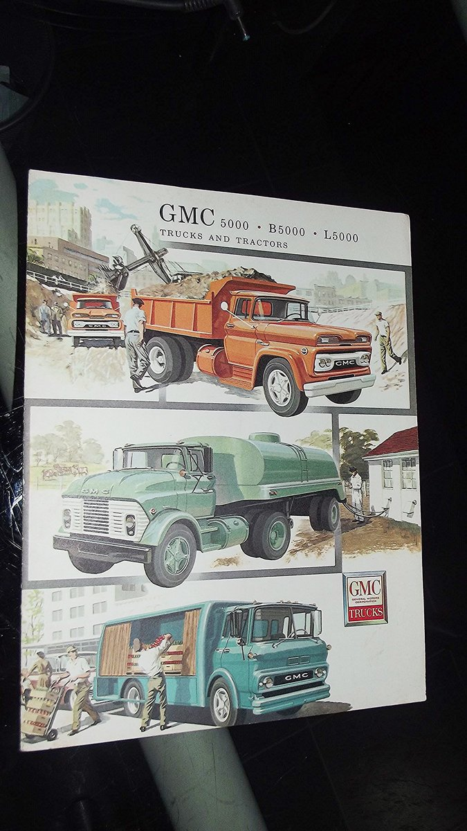 0000 GMC ORIG SALES BROCHURES WHOLE RANGE 1960S TO 1975 For Sale (picture 11 of 12)