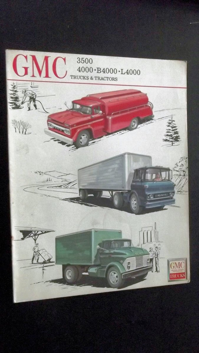 0000 GMC ORIG SALES BROCHURES WHOLE RANGE 1960S TO 1975 For Sale (picture 12 of 12)