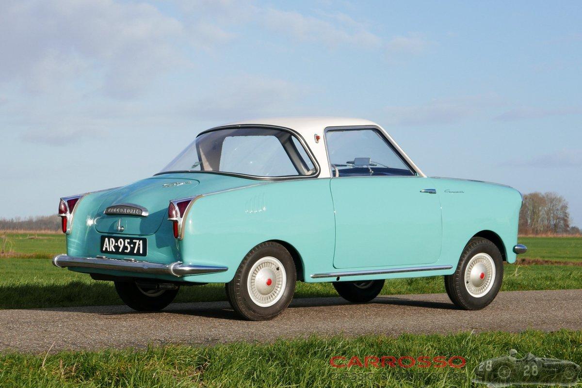 1961 Goggomobil TS250 Coupé rare and original car For Sale (picture 2 of 6)