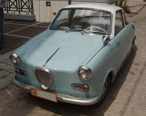 1957 Hans Glas Goggomobil TS250 early doors