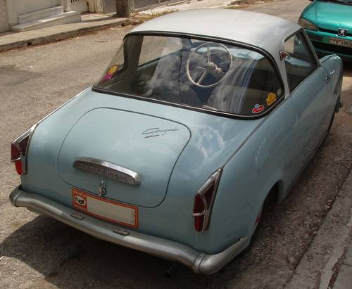 1957 Hans Glas Goggomobil TS250 early doors For Sale (picture 2 of 6)