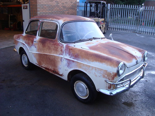 GLAS ISAR GOGGOMOBIL T700 ROYAL 2DR LHD (1960) RARE PROJECT! SOLD (picture 1 of 4)