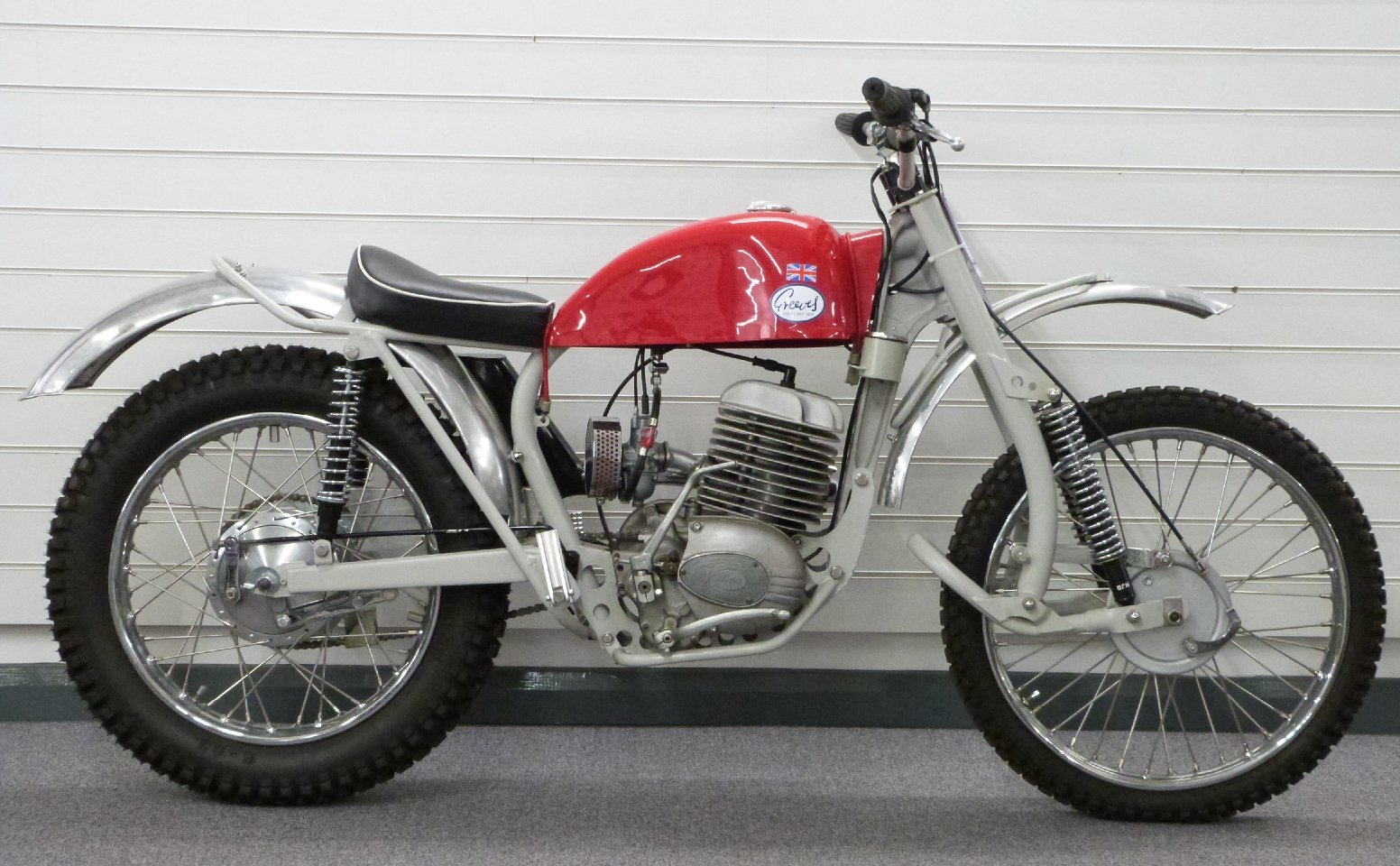 1967 Greeves 250cc trials bike For Sale by Auction (picture 1 of 6)