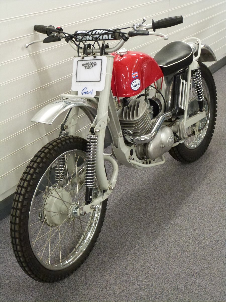 1967 Greeves 250cc trials bike For Sale by Auction (picture 3 of 6)