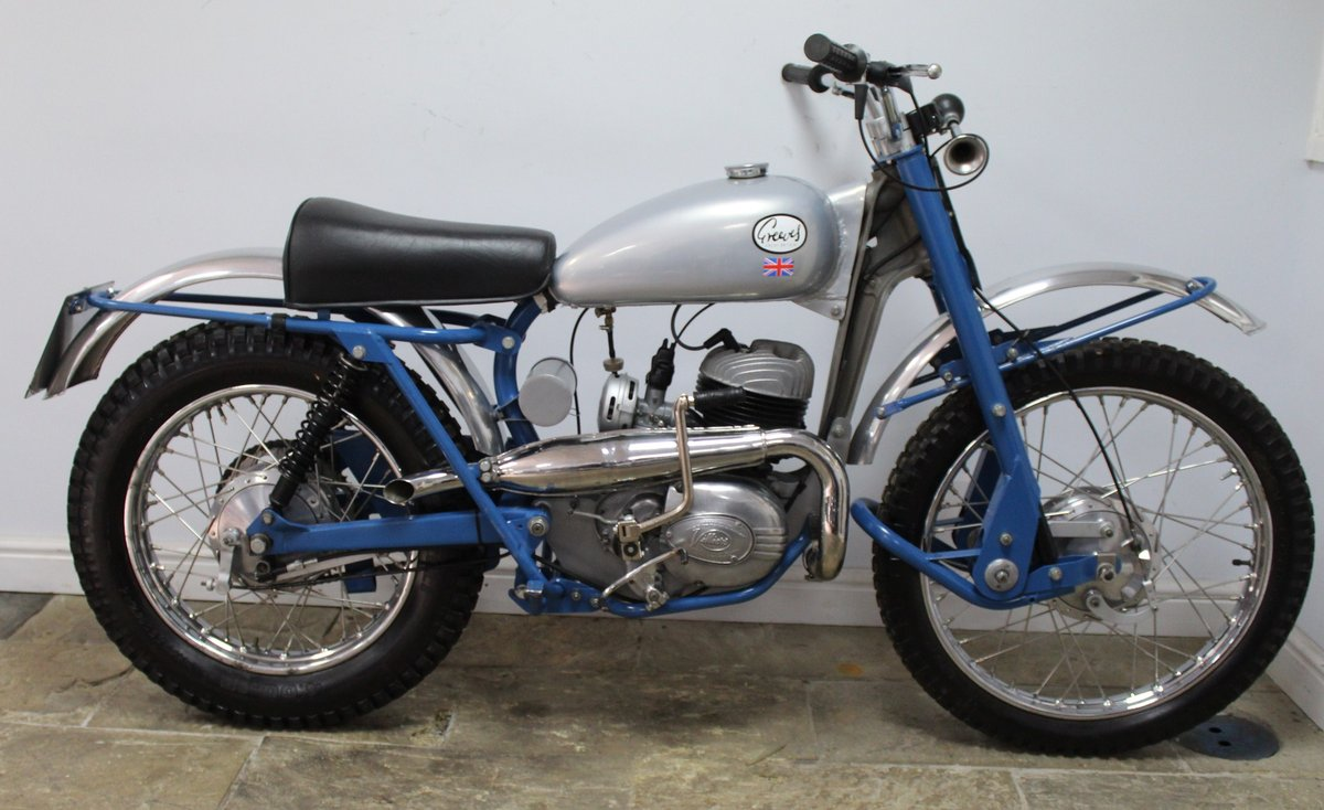 1963 Greeves TE 250 cc Trials  SOLD (picture 1 of 6)