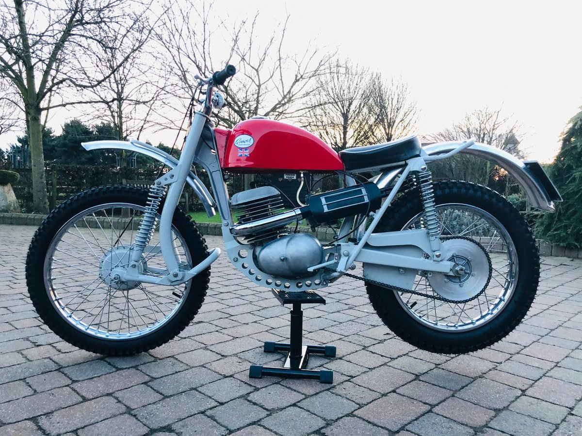 Greeves Anglian 250 -2 stroke 1966 For Sale (picture 1 of 6)