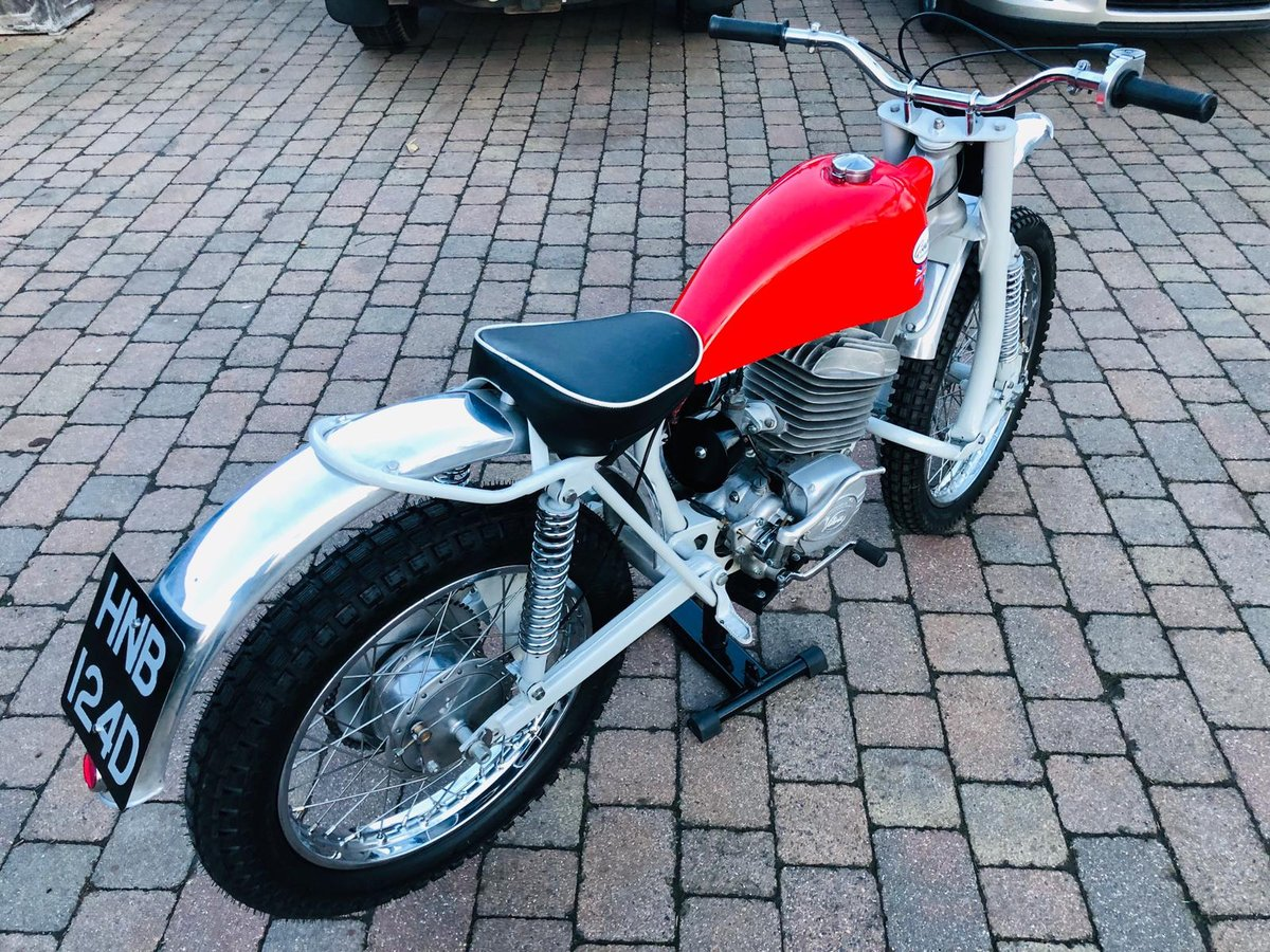 Greeves Anglian 250 -2 stroke 1966 For Sale (picture 3 of 6)