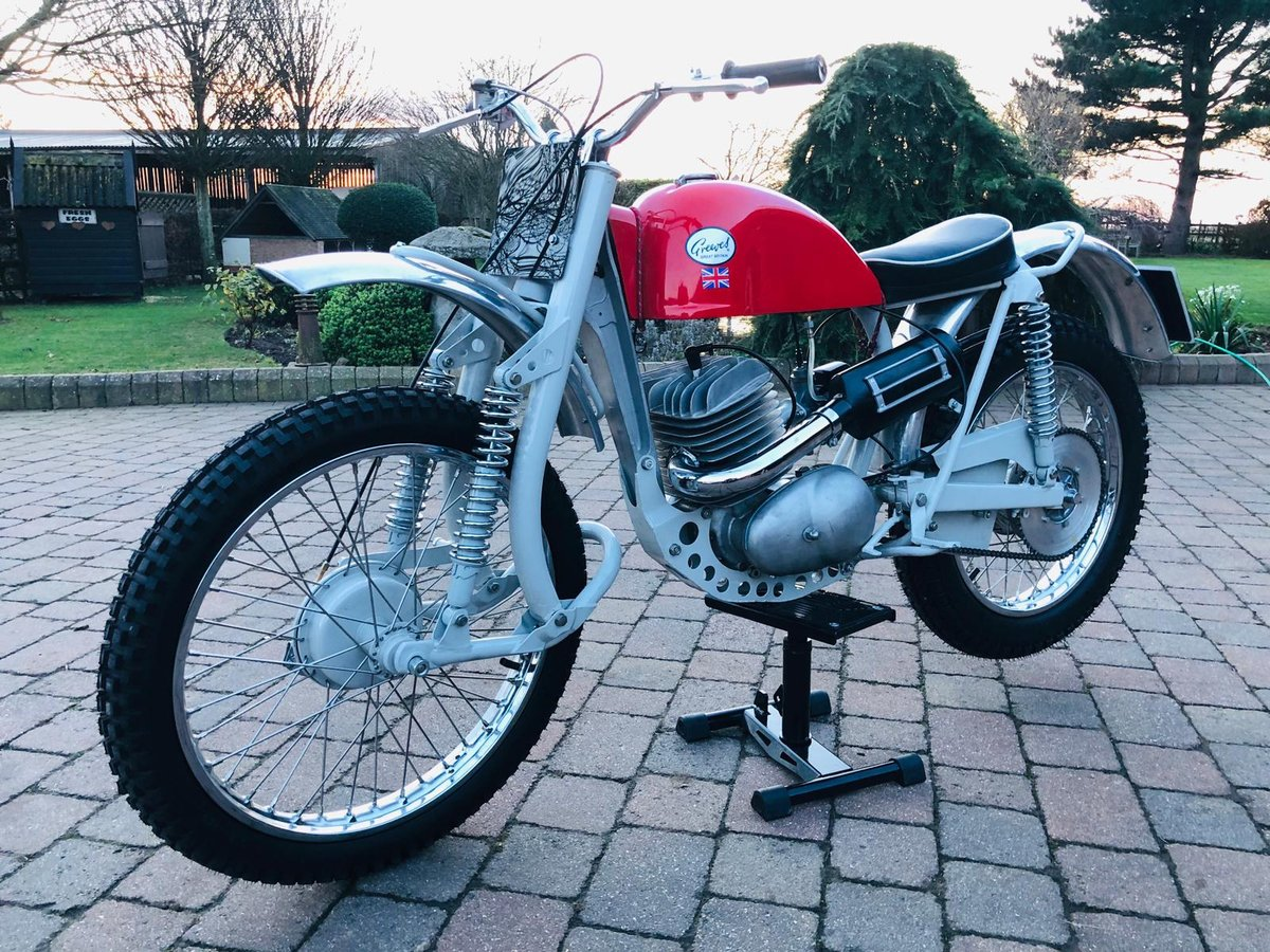 Greeves Anglian 250 -2 stroke 1966 For Sale (picture 5 of 6)