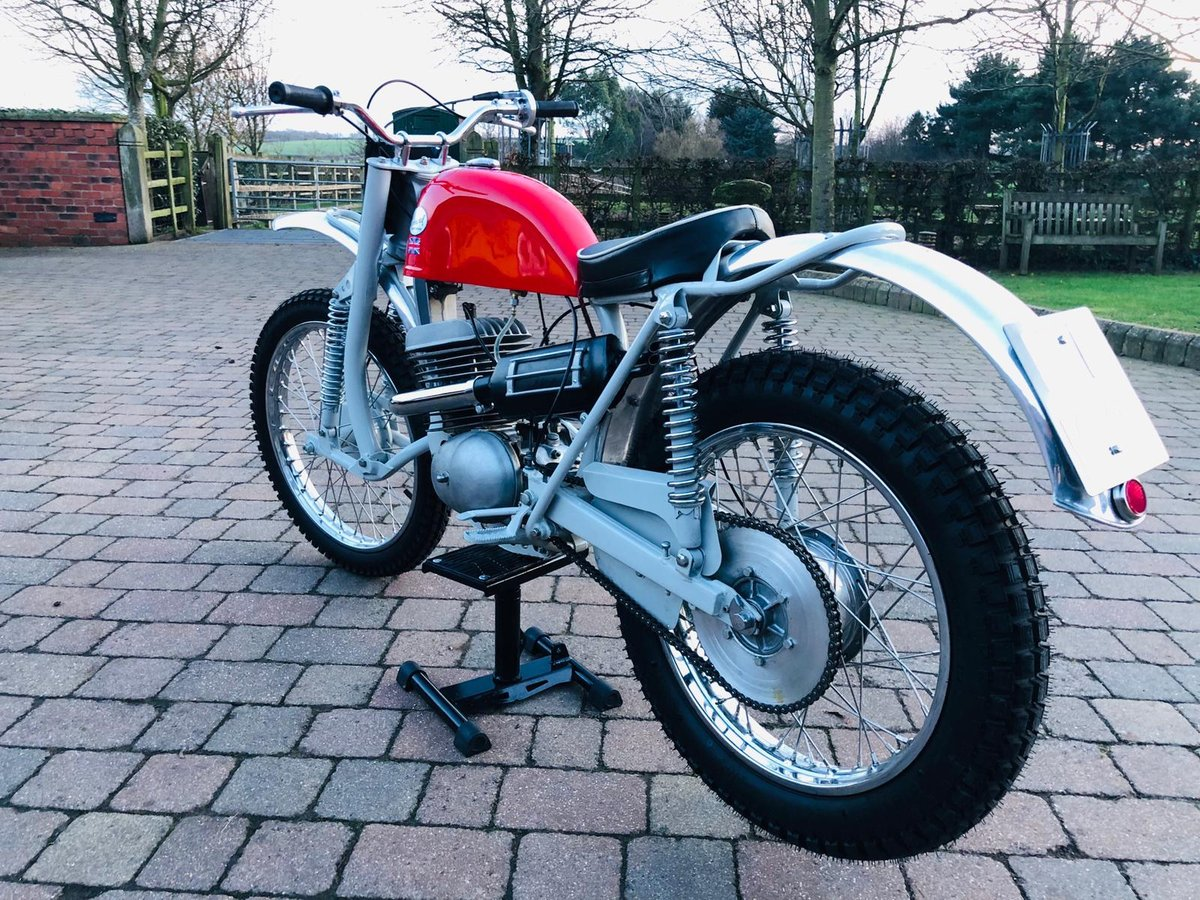 Greeves Anglian 250 -2 stroke 1966 For Sale (picture 6 of 6)