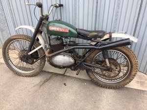 Lot 137 - A c1962 Greeves twinshock scrambler - 10/08/2019 SOLD by Auction