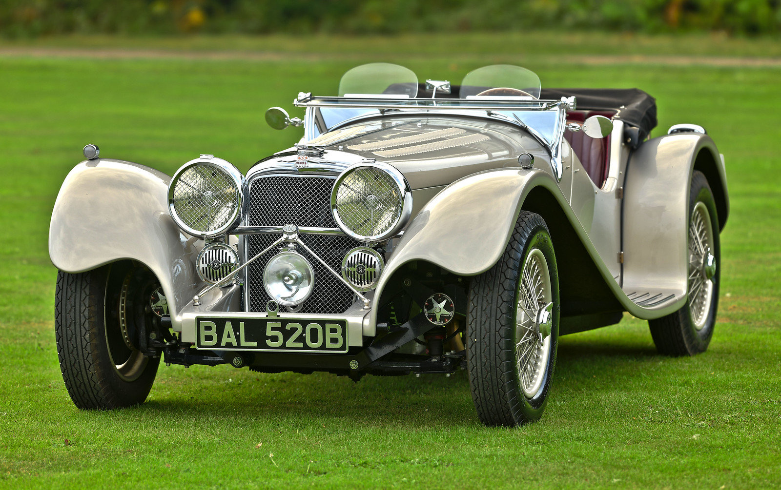 1964 Jaguar SS100 By Suffolk, Left Hand Drive For Sale (picture 1 of 6)