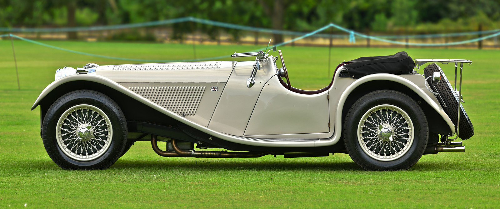 1964 Jaguar SS100 By Suffolk, Left Hand Drive For Sale (picture 2 of 6)