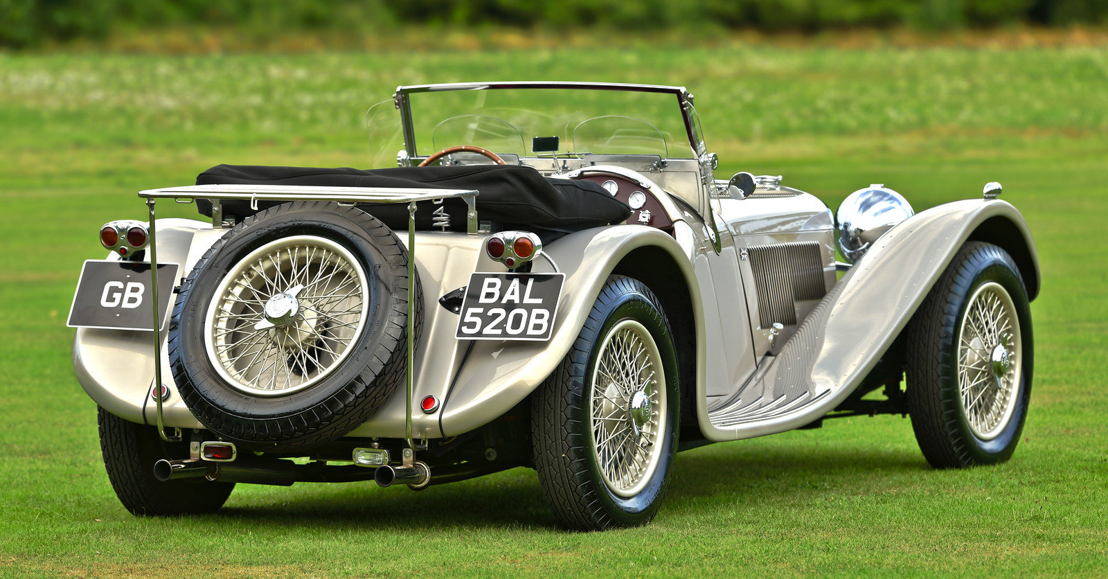 1964 Jaguar SS100 By Suffolk, Left Hand Drive For Sale (picture 3 of 6)