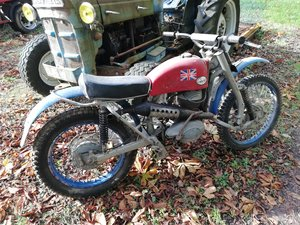 Greeves Challenger Scrambler frame number 24MX3