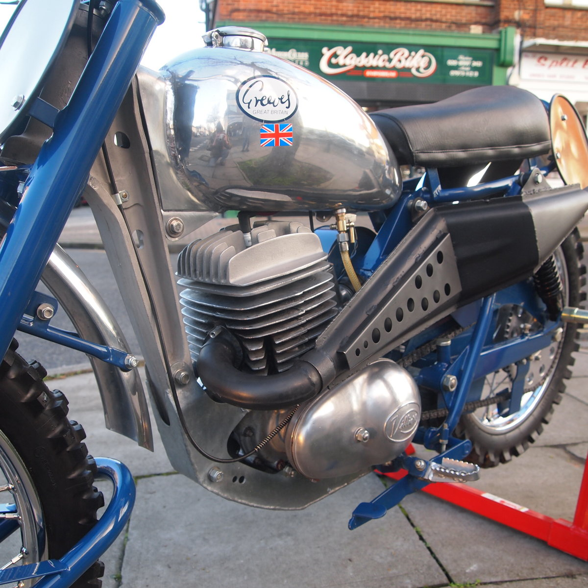 1963 Joe Johnson's Works Greeves 24 MDS 250, Rare And Beautiful. For Sale (picture 4 of 6)