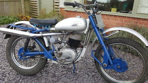 1959 Greeves Scottish 250 Trials road registered