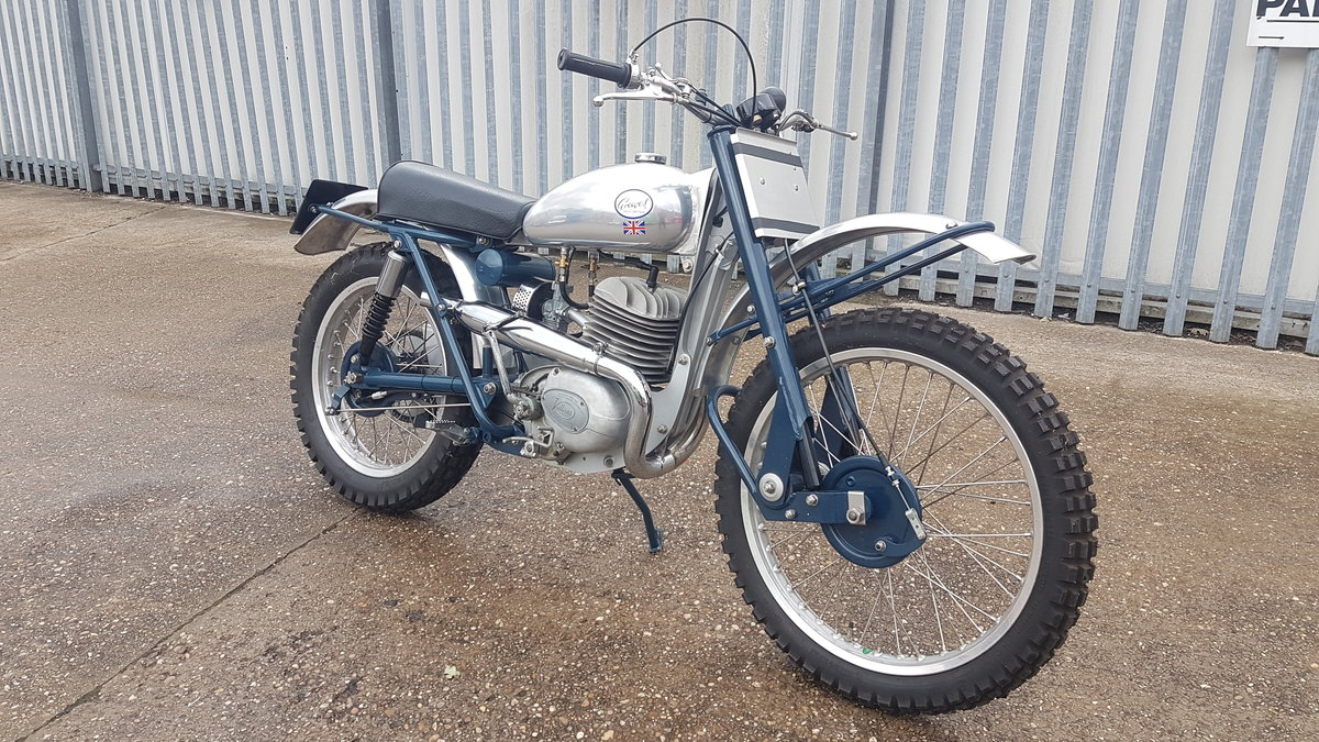 Greeves 20 TD Scottish 250cc Villiers 1960 Road Registered For Sale (picture 1 of 6)