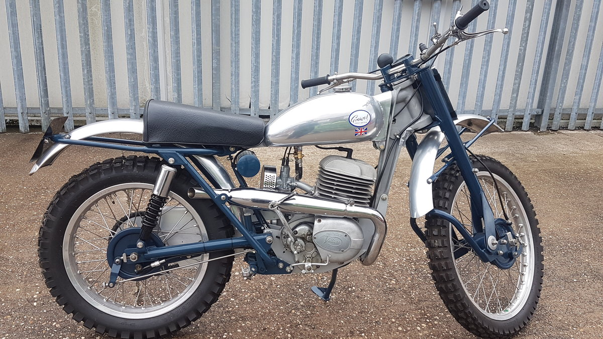 Greeves 20 TD Scottish 250cc Villiers 1960 Road Registered For Sale (picture 3 of 6)