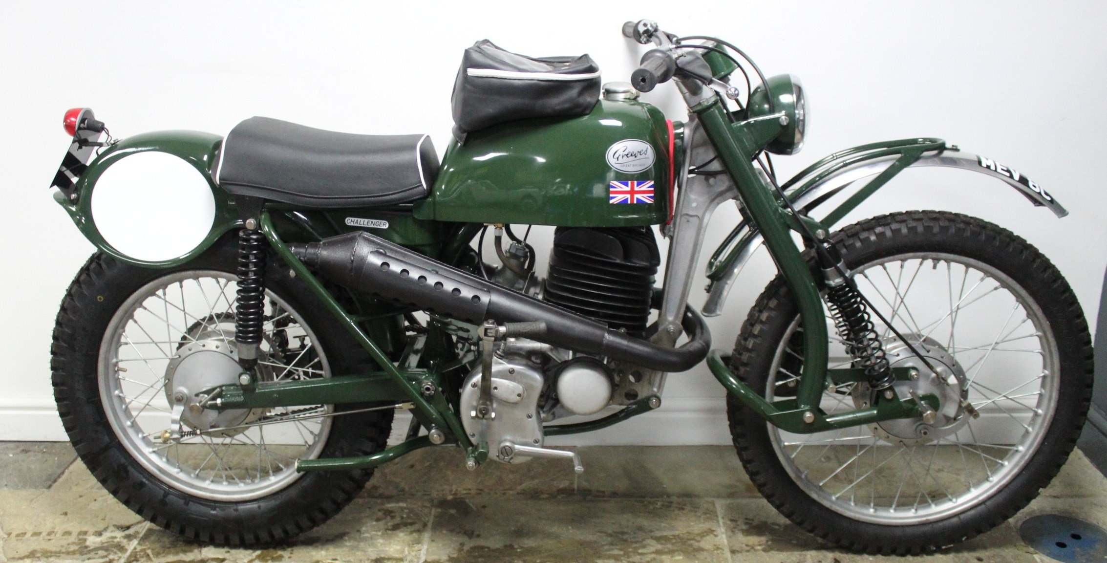 1965 Greeves  250 cc Works ISDT Bike Registered MEV8C SOLD (picture 3 of 6)