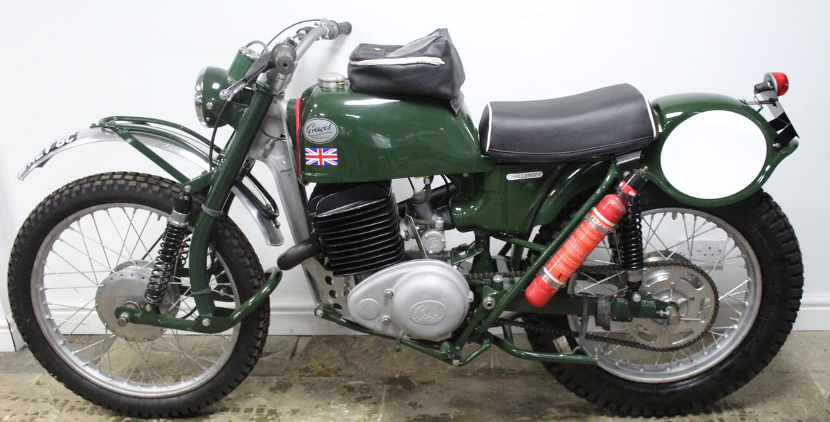 1965 Greeves  250 cc Works ISDT Bike Registered MEV8C SOLD (picture 5 of 6)