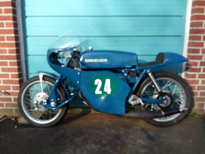 Greeves Silverstone Tribute Bike