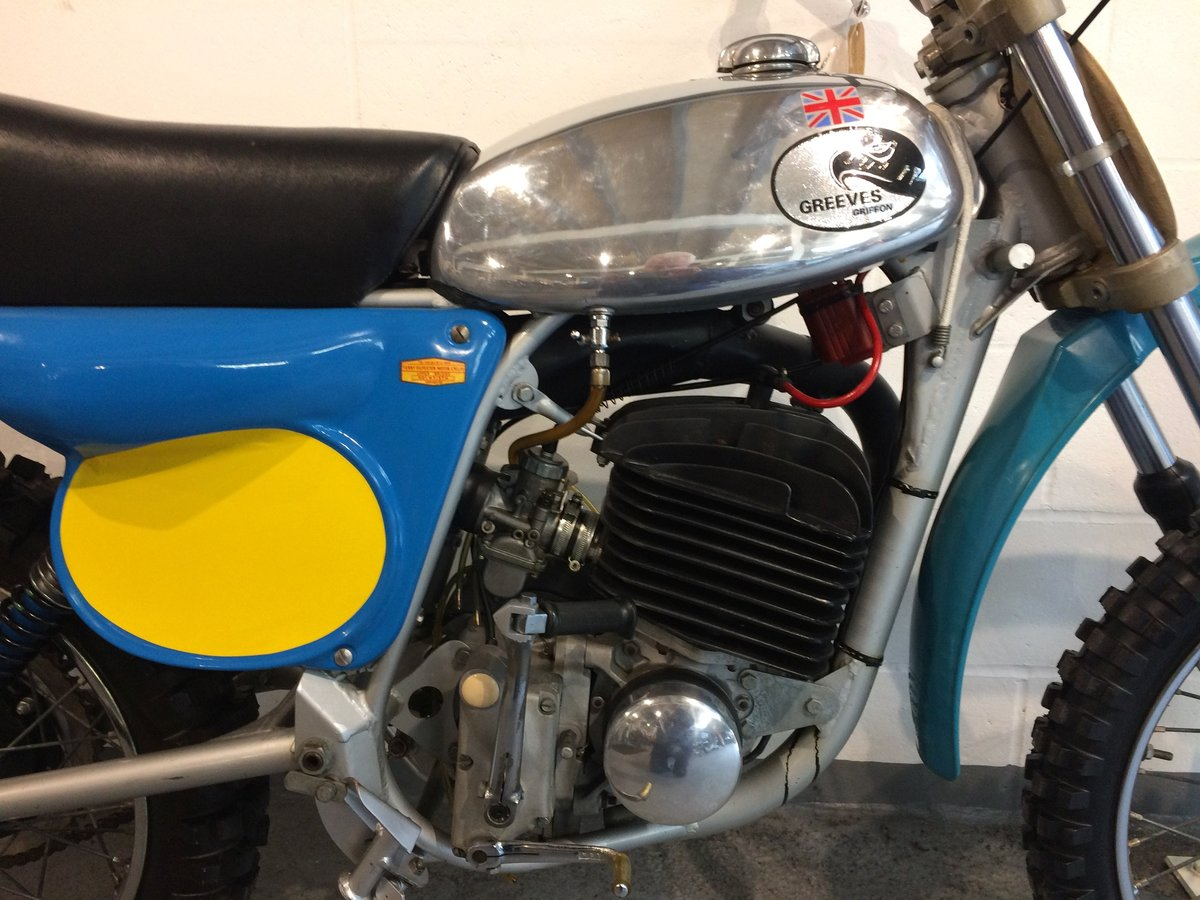 1976 Greeves MkII 380 QUB Griffon For Sale (picture 6 of 7)