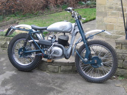 1960 Greeves Scottish 250cc Pre 65 trials bike SOLD | Car