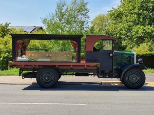 1929 Vintage Guy Funeral Hearse