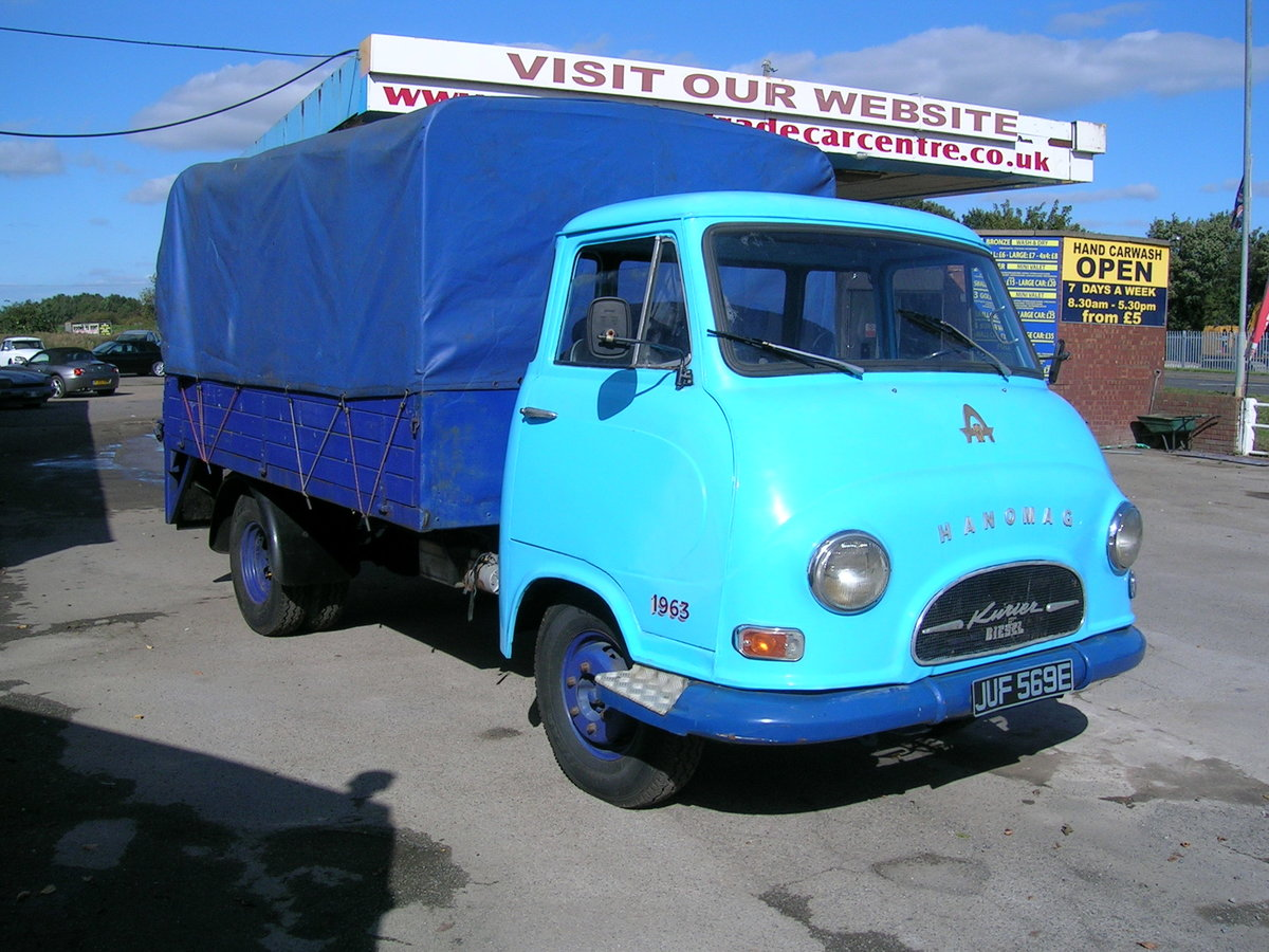 1967 Hanomag Kurier LL Commercial Classic For Sale (picture 1 of 6)