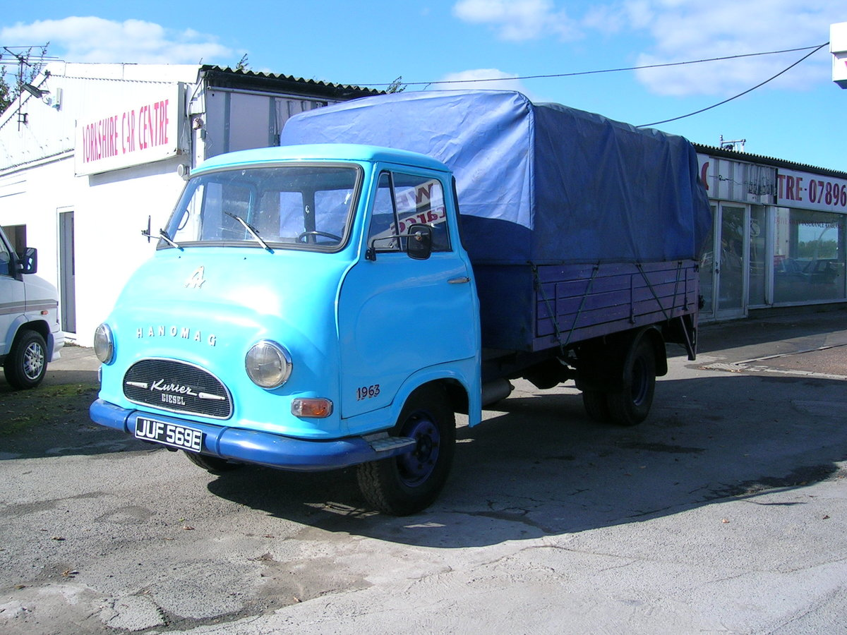 1967 Hanomag Kurier LL Commercial Classic For Sale (picture 2 of 6)
