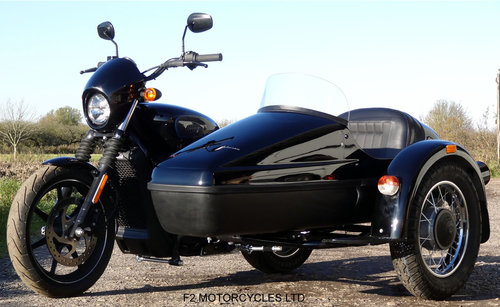 2017 Harley Davidson 750 Street sidecar combination SOLD (picture 1 of 4)