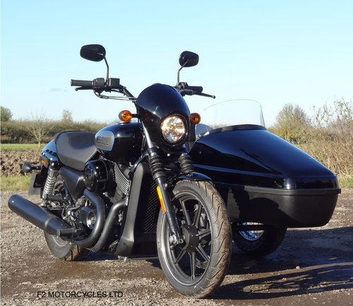 2017 Harley Davidson 750 Street sidecar combination SOLD (picture 4 of 4)