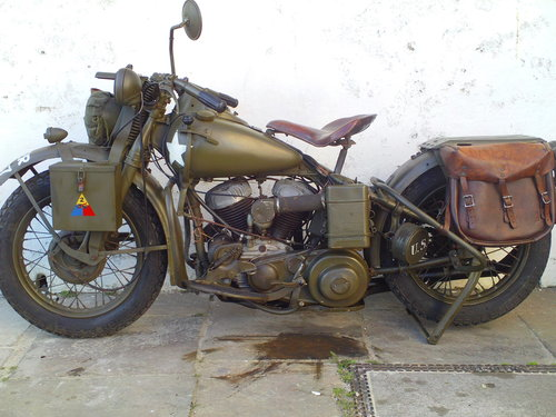 1942 HARLEY DAVIDSON 45 WLA LIBERATOR SOLD (picture 3 of 6)