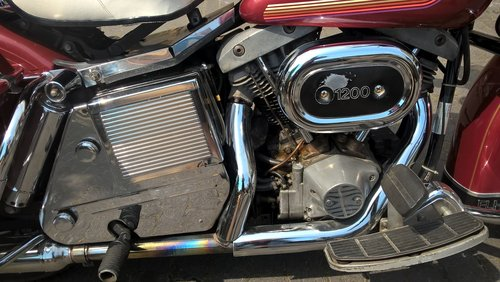 Harley davidson electra glide 1976 For Sale (picture 4 of 6)
