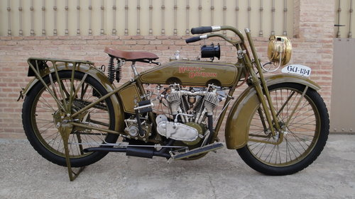 1921 Harley davidson f head 21f 1000cc ioe For Sale (picture 1 of 6)